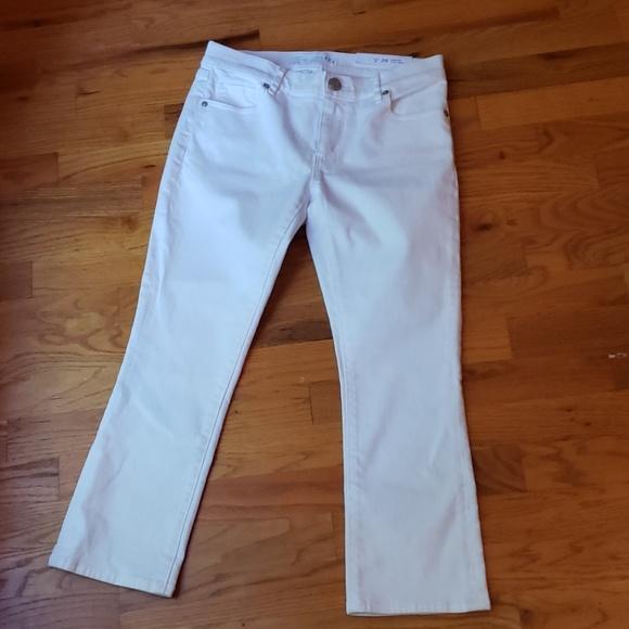 LOFT Denim - Petite Ann Taylor Loft Cropped Jeans